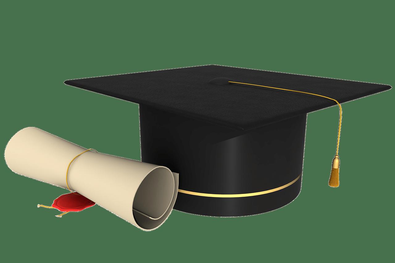 diploma, graduation, contract
