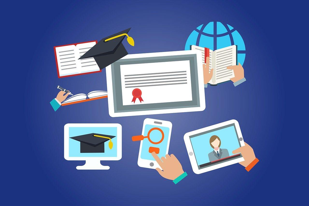 online, education, internet