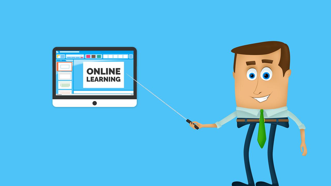 online, teacher, presentation